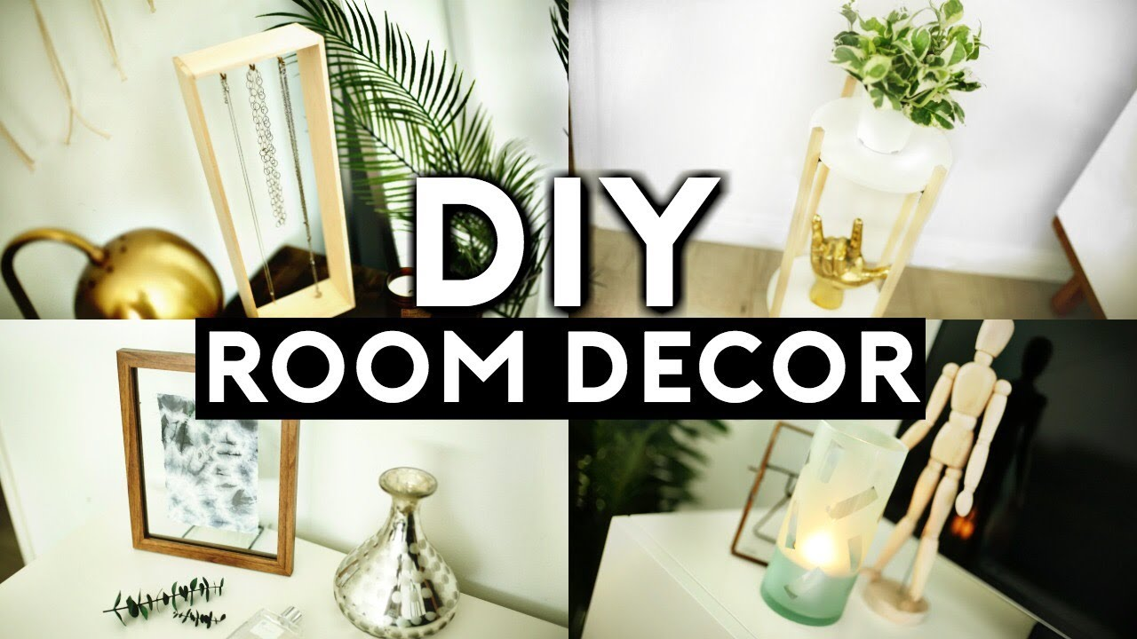 Best Diy Room Decor Tumblr Inspired Minimal Cheap 2017 Youtube This Month