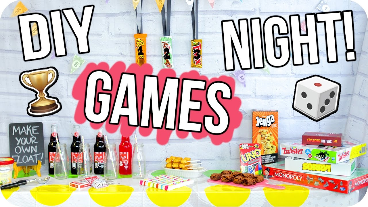 Best Diy Game Night Party Cheap Fun For Everyone Youtube This Month
