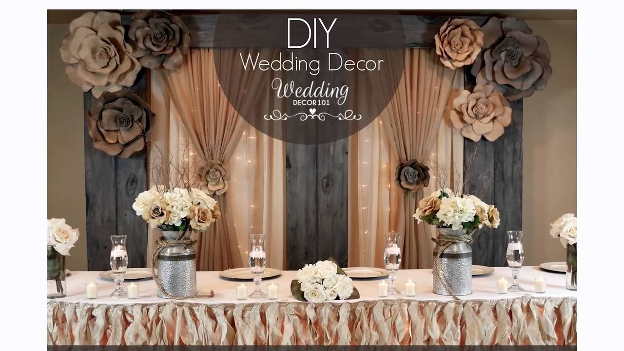 Best Wedding Decor 101 Sign Up For A Week Of Free Diy Tips This Month