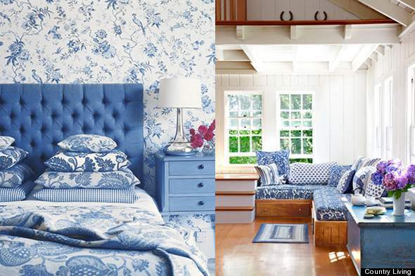 Best Color Diary Decorating Blue And White Rooms Video This Month