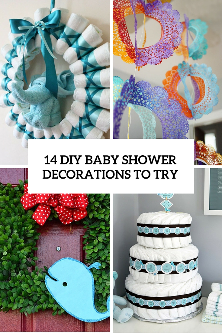 Best 14 Cutest Diy Baby Shower Decorations To Try Shelterness This Month