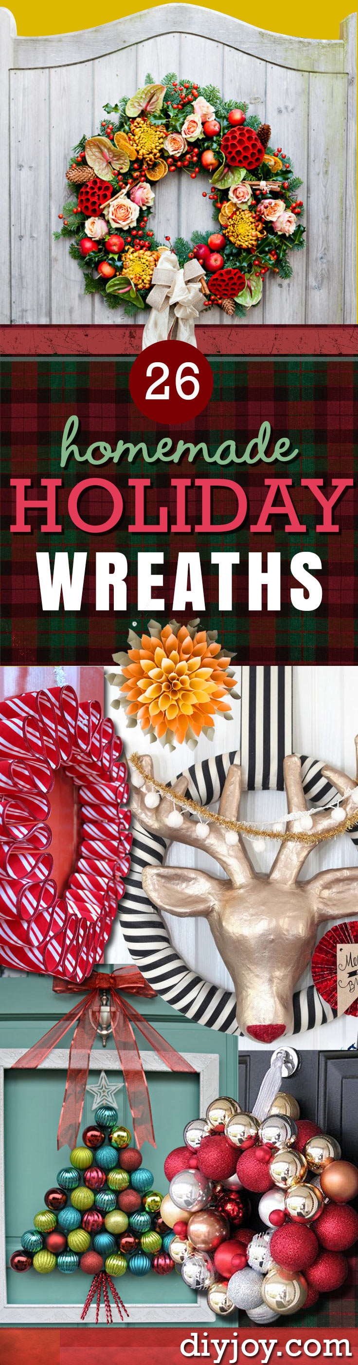 Best 26 Most Beautiful Diy Holiday Wreaths Ever This Month