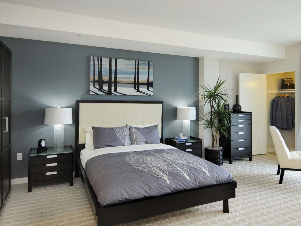 Best Gray Master Bedrooms Ideas Hgtv This Month