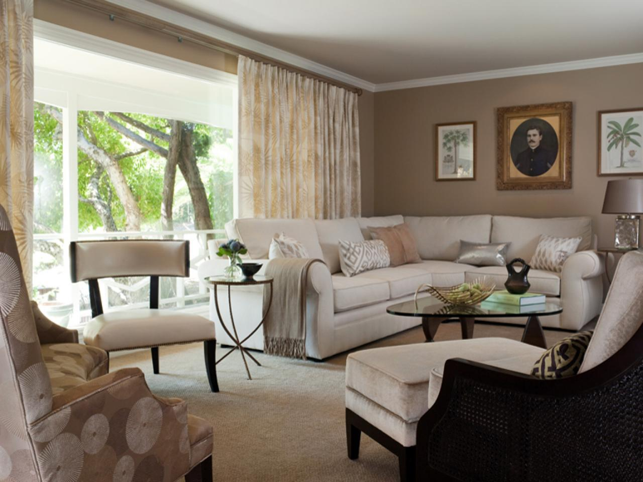 Best Contemporary Living Room Makeover Jean Larette Hgtv This Month