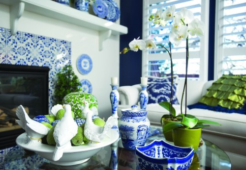 Best Three Ways To Update A Blue And White Interior This Month