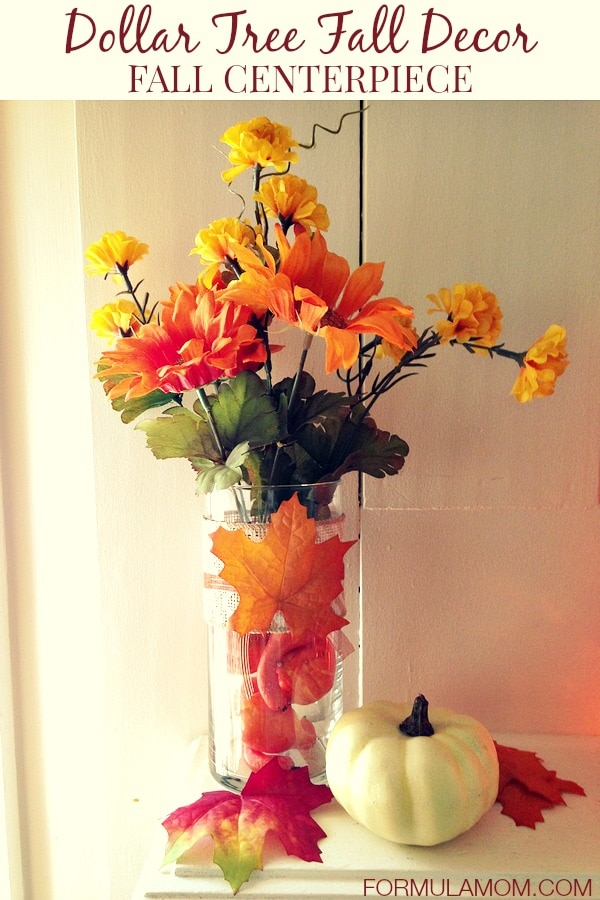 Best Dollar Tree Fall Decor Fall Centerpiece Sponsored Crafts This Month