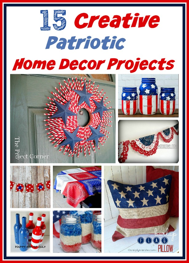 Best 15 Creative Patriotic Diy Home Decor Projects A This Month
