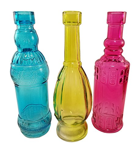 Best Decorative Colored Vintage Glass Bottles For Bottle Tree This Month