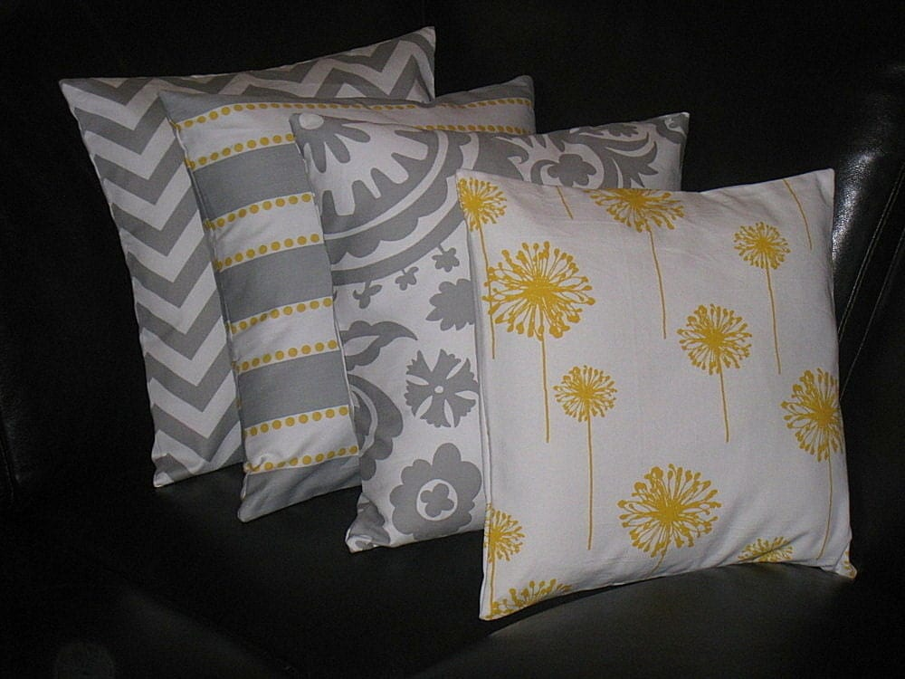 Best Decorative Pillows Grey Throw Pillows Four By This Month