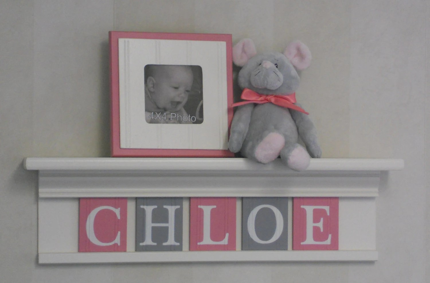 Best Gray Pink Newborn Baby Girl Nursery Decorations Baby Name This Month