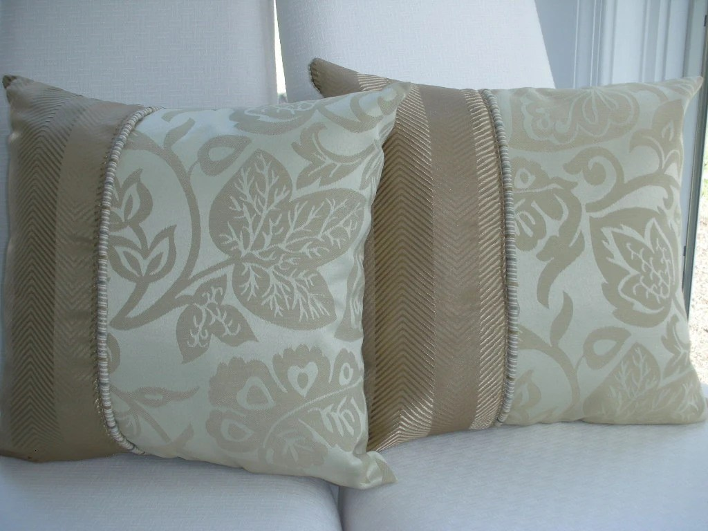 Best Beige Decorative Pillow Tan Pillow Taupe Pillow Brown This Month