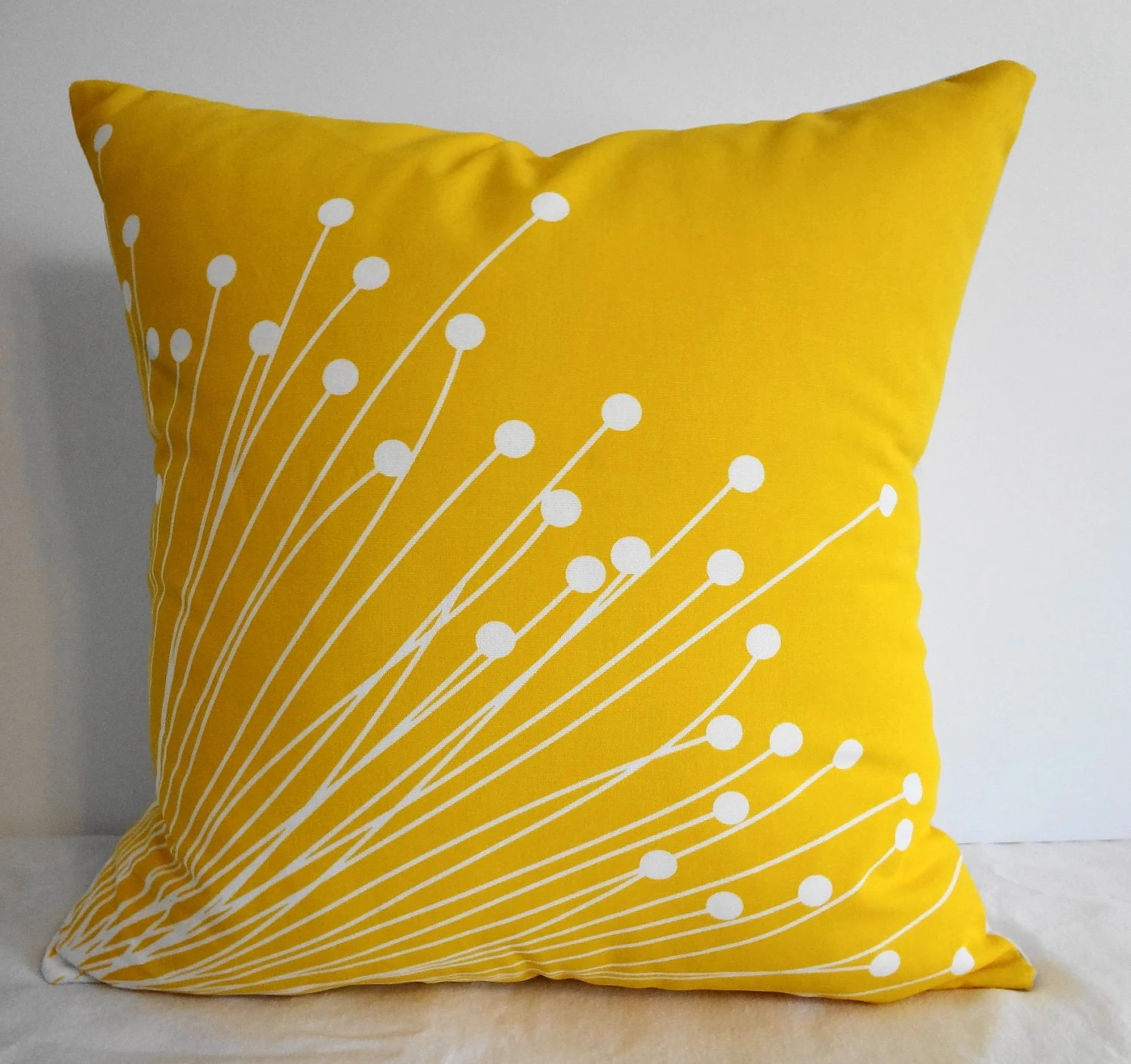 Best Starburst Yellow Pillow Covers Decorative Throw Pillow This Month