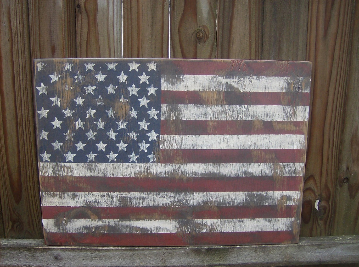 Best Distressed American Flag Wall Decor This Month