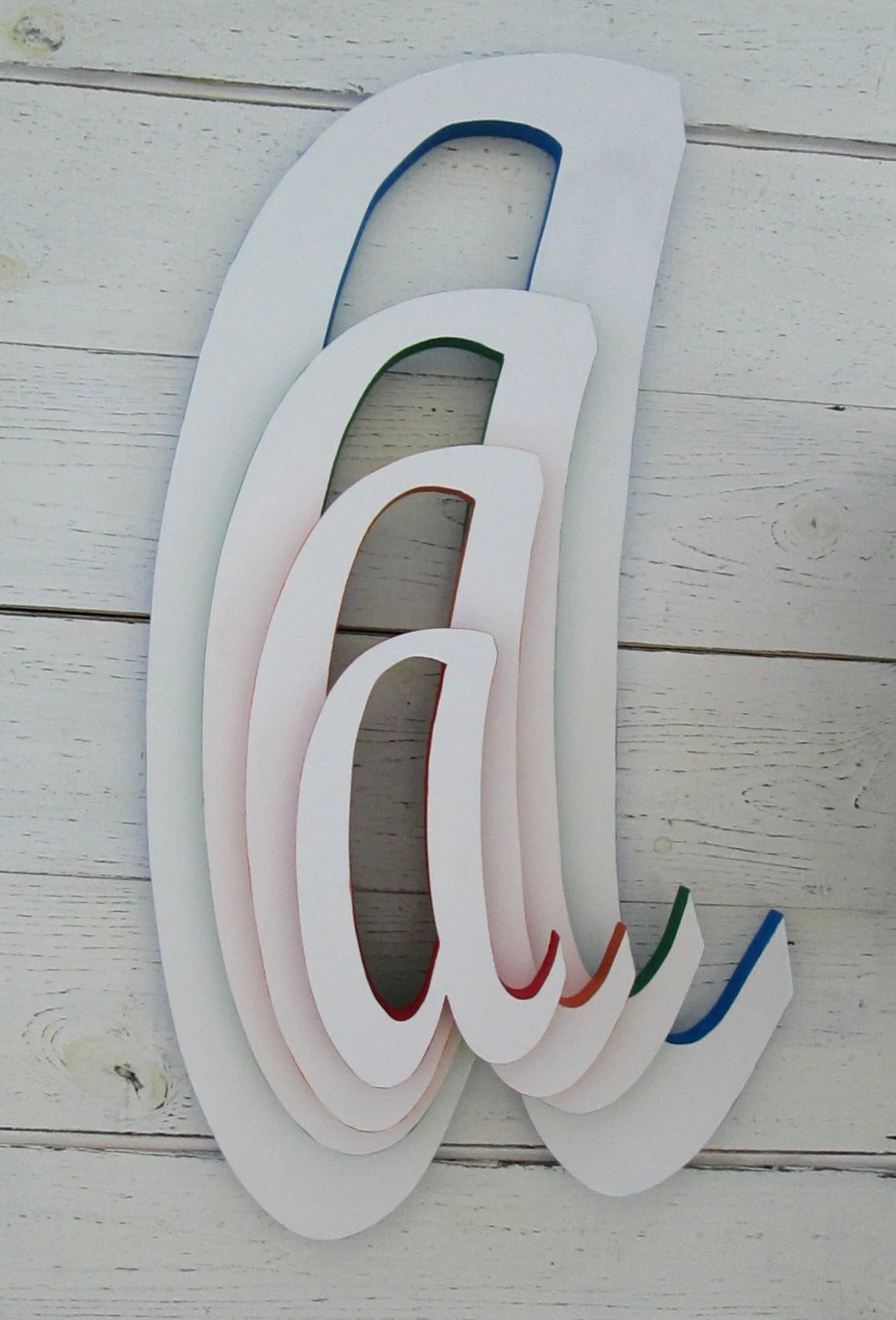 Best Decorative Wall Letters Large 22 Inch Wooden By This Month