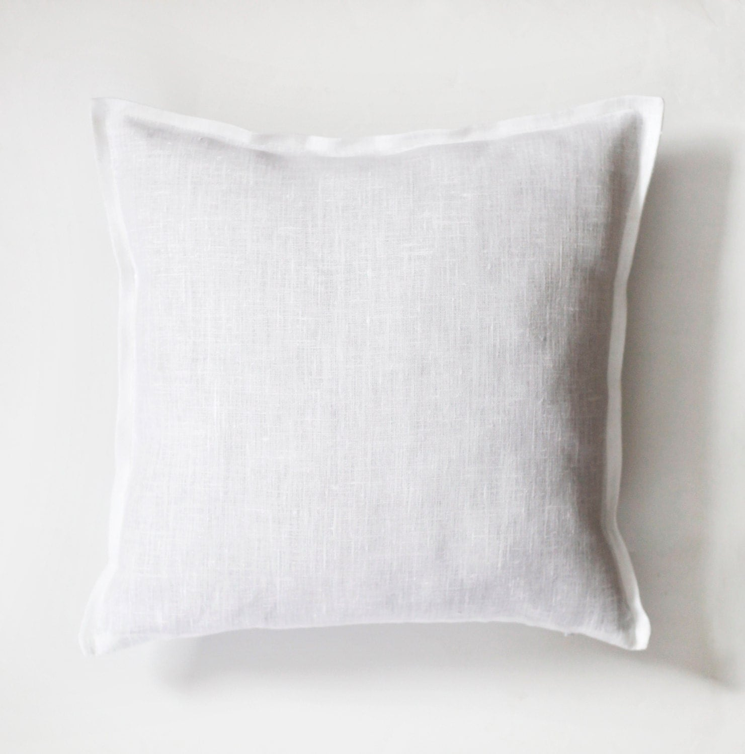 Best White Pillow White Pillow Cover White Natural Fabric This Month
