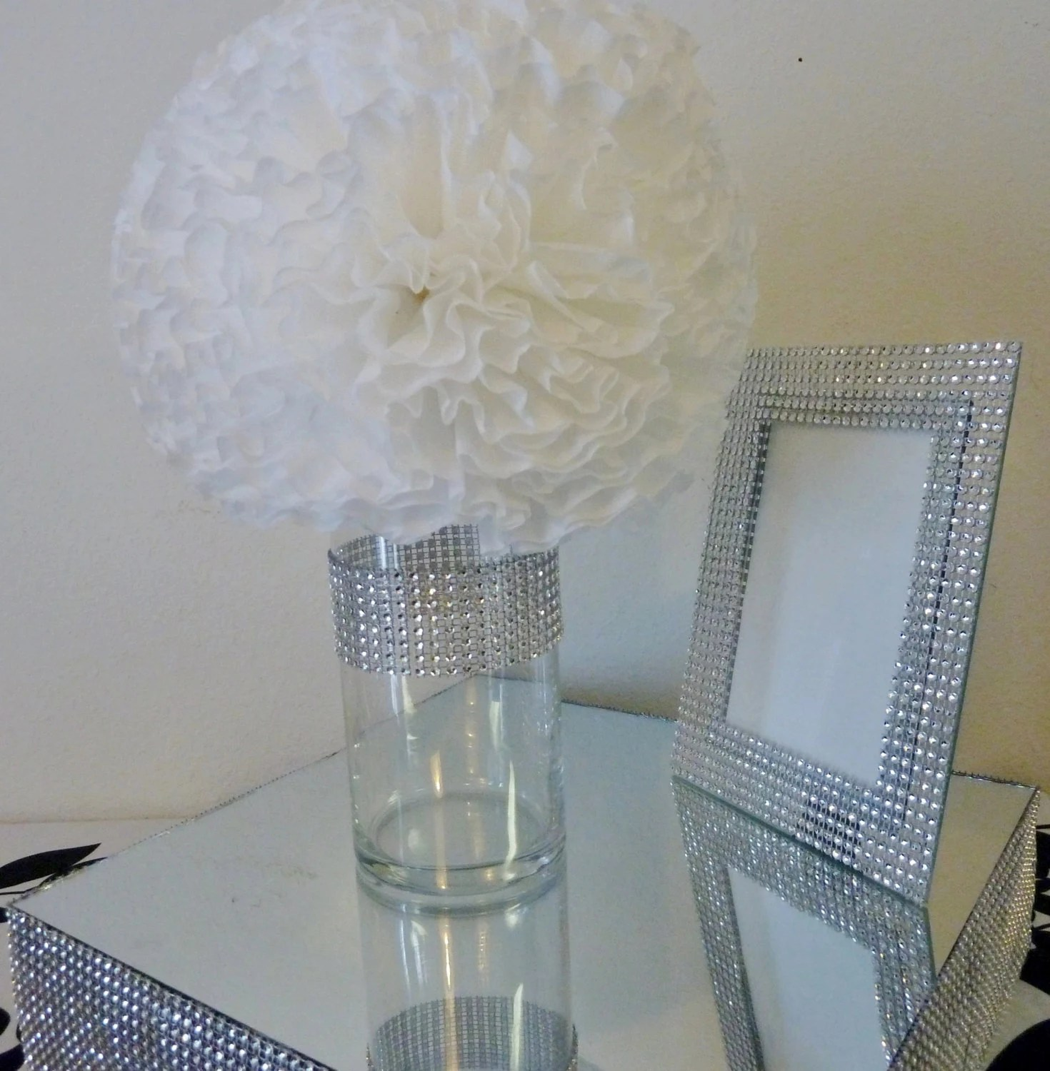 Best 3 Bling Silver Faux Rhinestone Cylinder By This Month