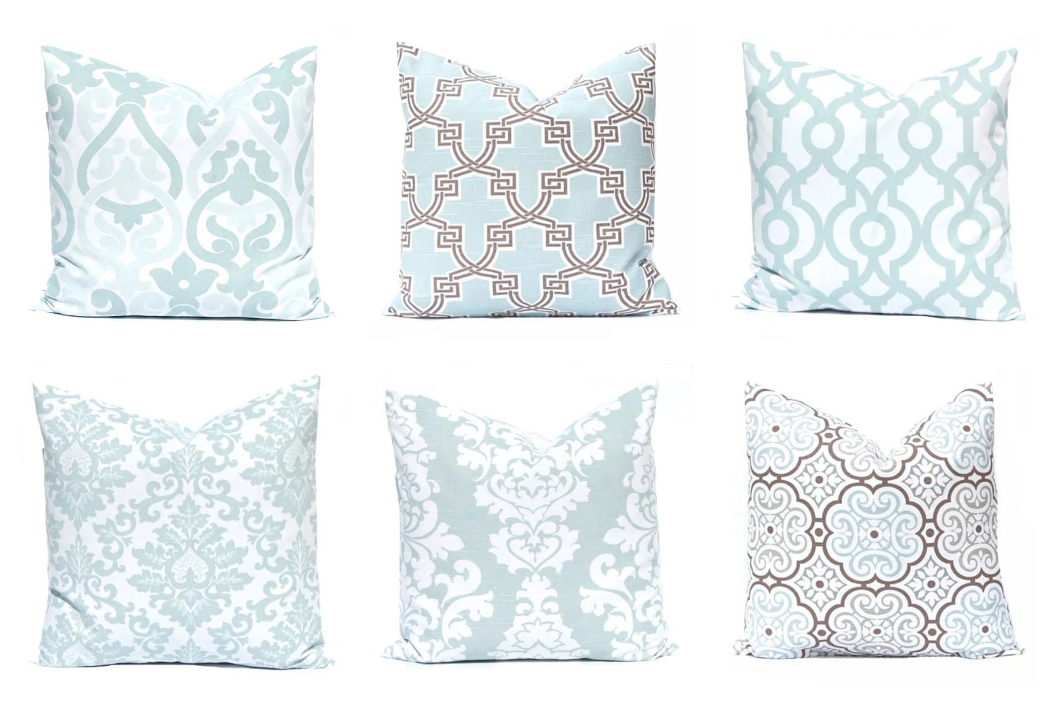 Best Decorative Pillow Covers Aqua Throw Pillow Covers Sofa This Month