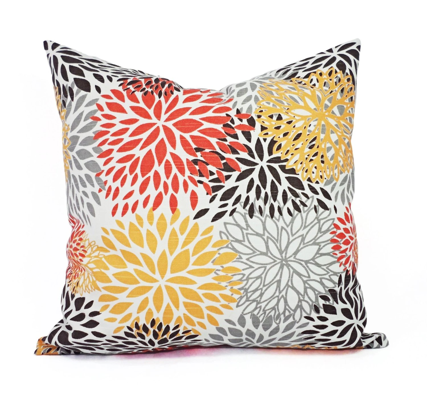 Best Two Orange And Brown Couch Pillows Orange Throw Pillow Cover This Month