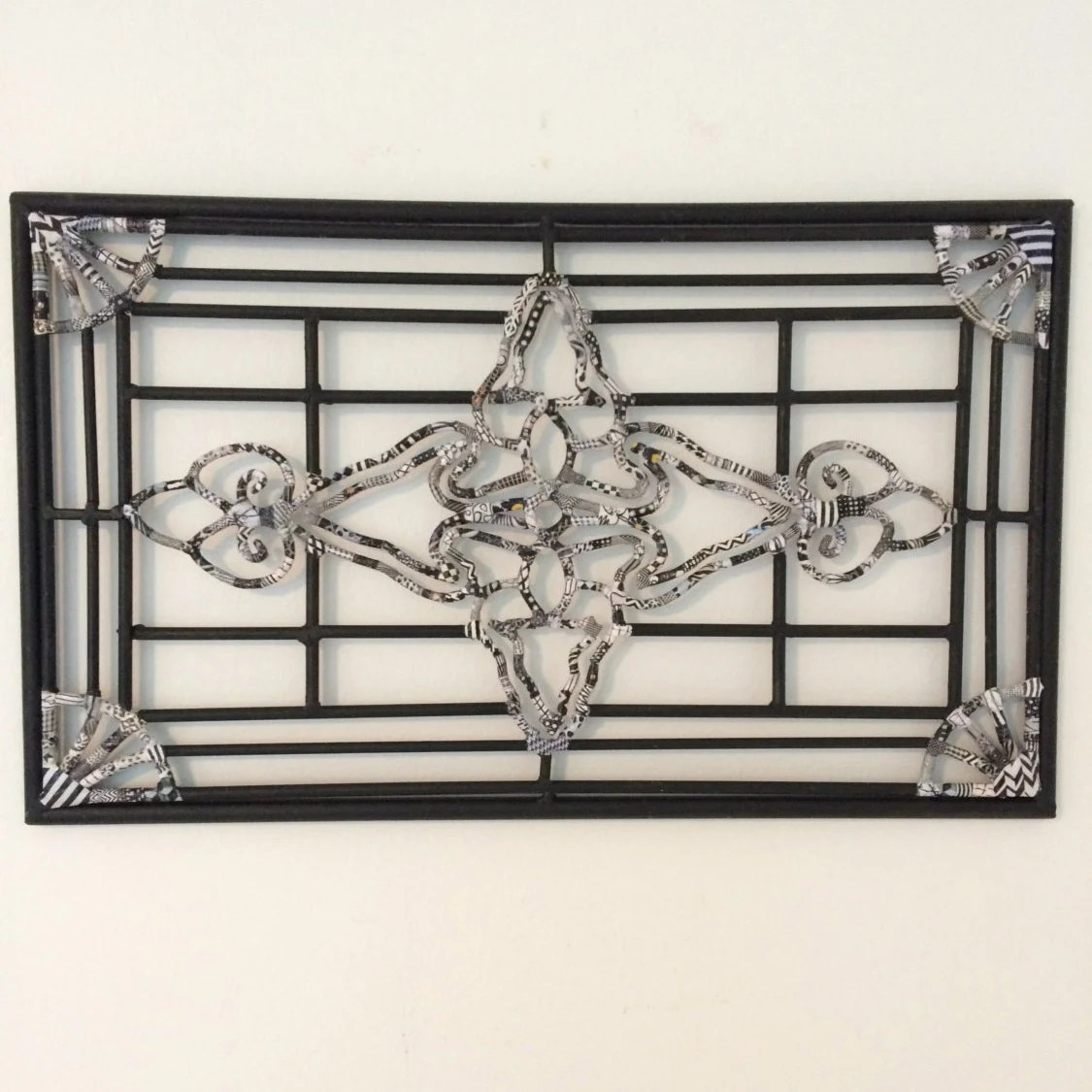 Best Wrought Iron Wall Hanging Black White Iron Wall Hanging This Month