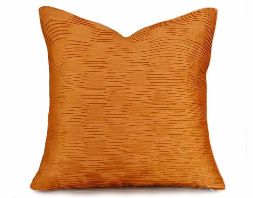 Best Orange Throw Pillow Solid Orange Pillow Covers Orange Couch This Month