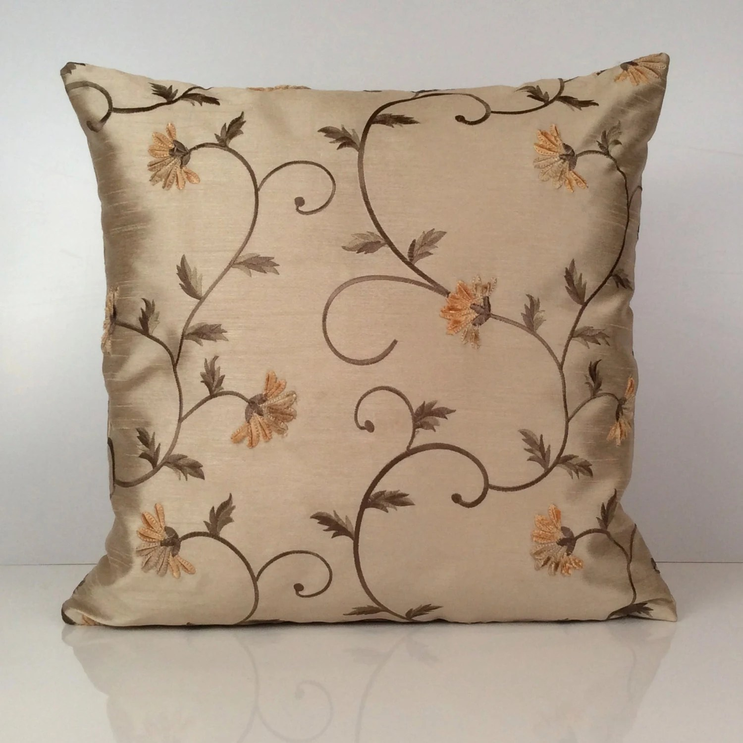 Best Light Tan Ivory Beige Pillow Decorative Throw Pillow Cover This Month