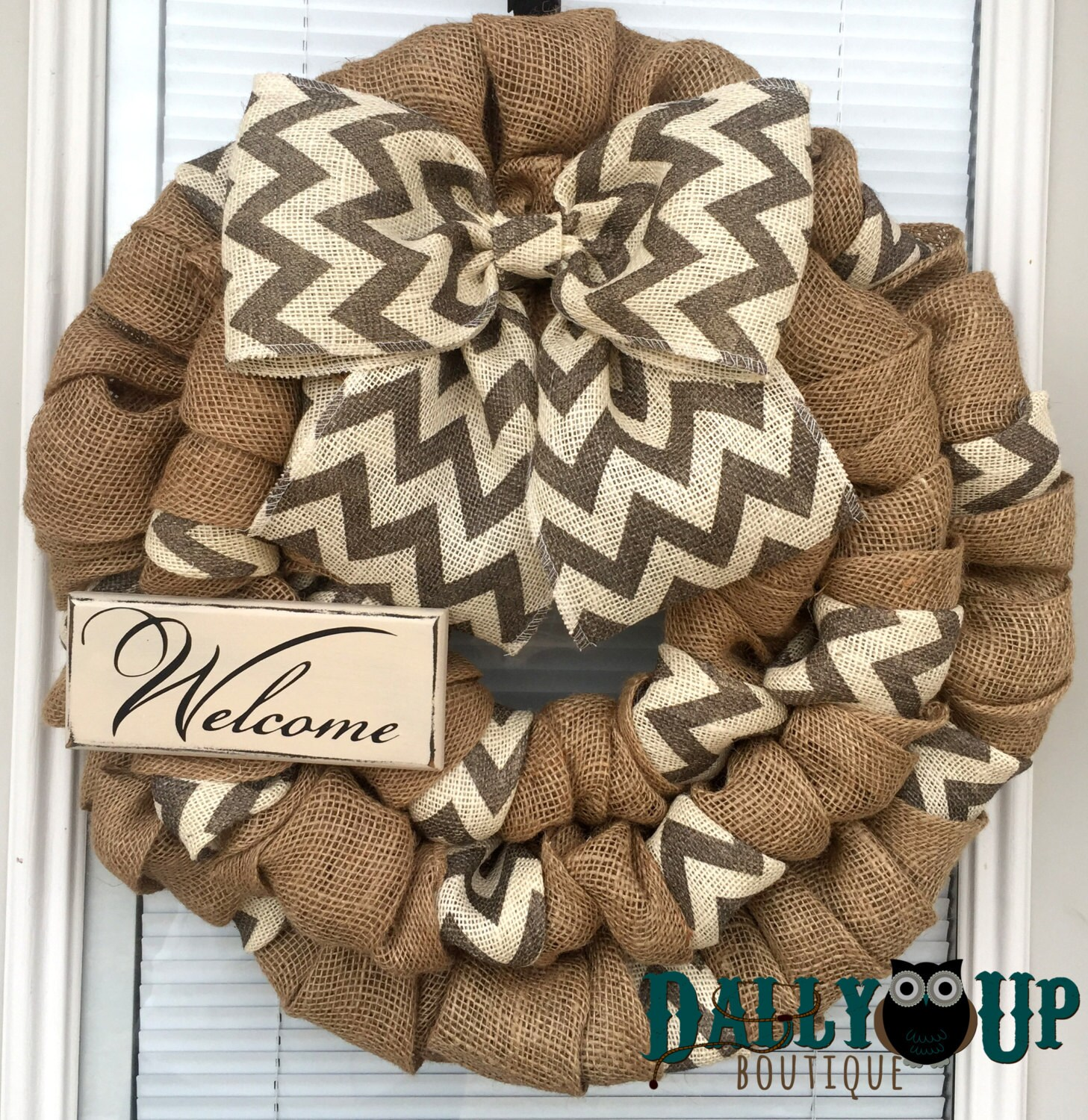 Best Burlap Wreath Door Wreath Home Decor Wreath Natural And This Month