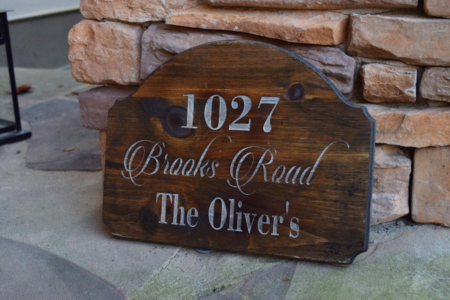 Best Address Sign Address Plaque Rustic Home Decor This Month