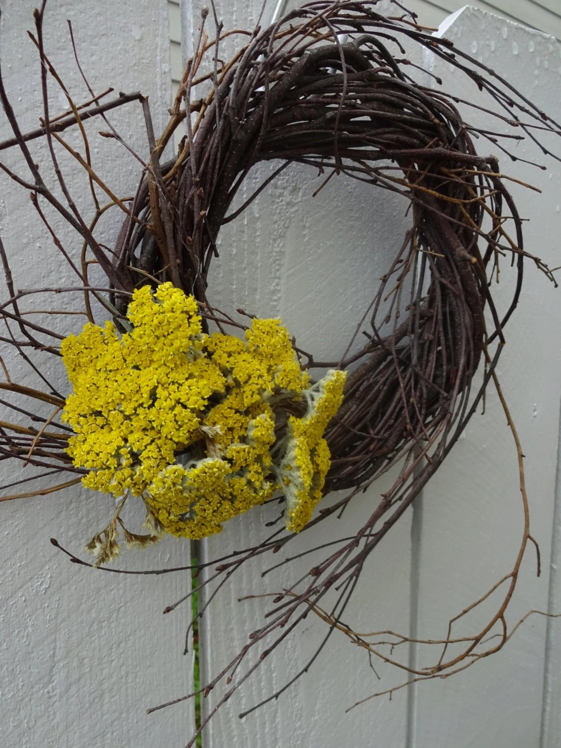 Best Birch Wreath Home Decor Rustic Wreath Wedding By Donnahubbard This Month