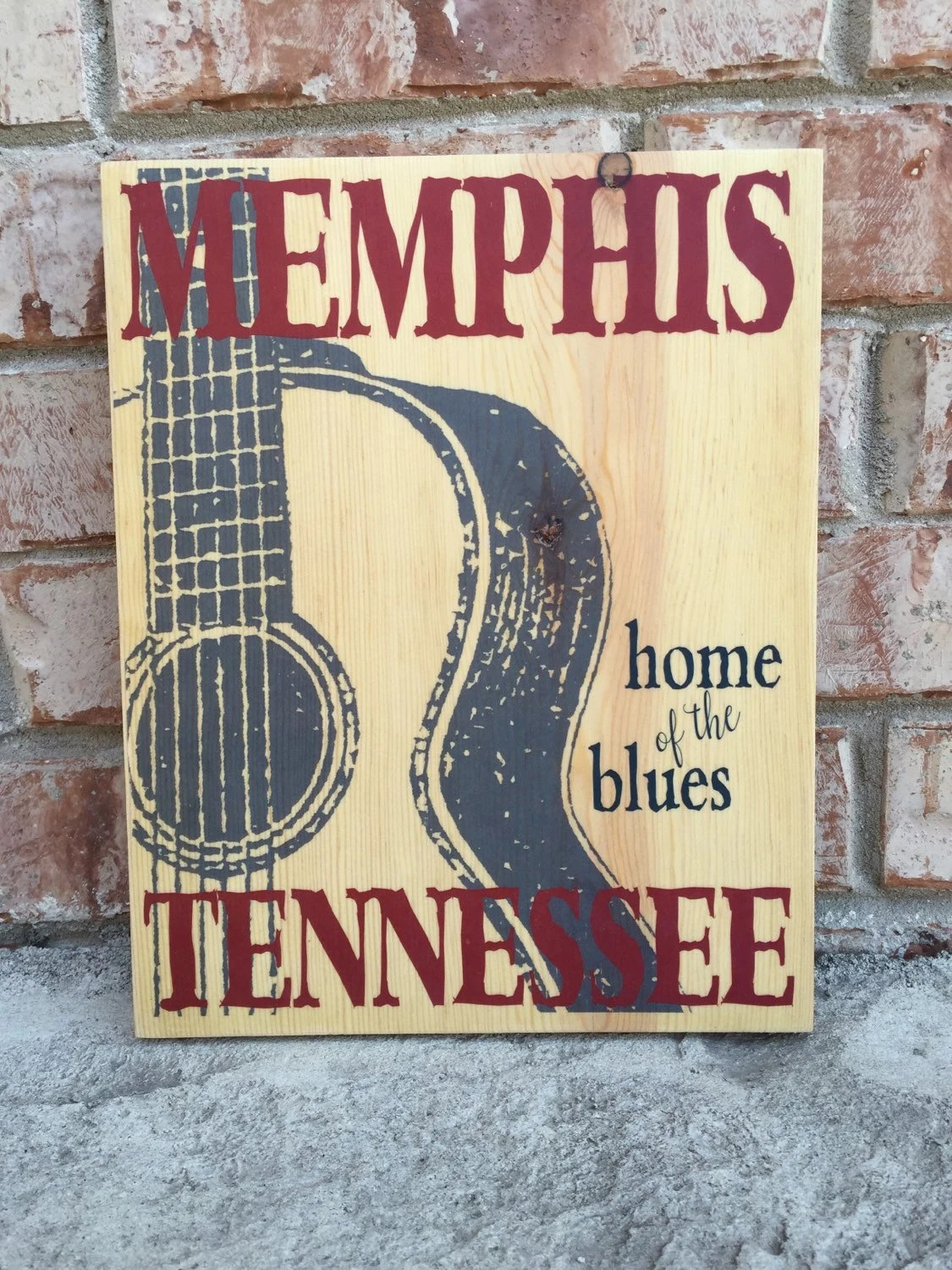 Best Memphis Tennessee Home Of The Blues Guitar Art Print On This Month
