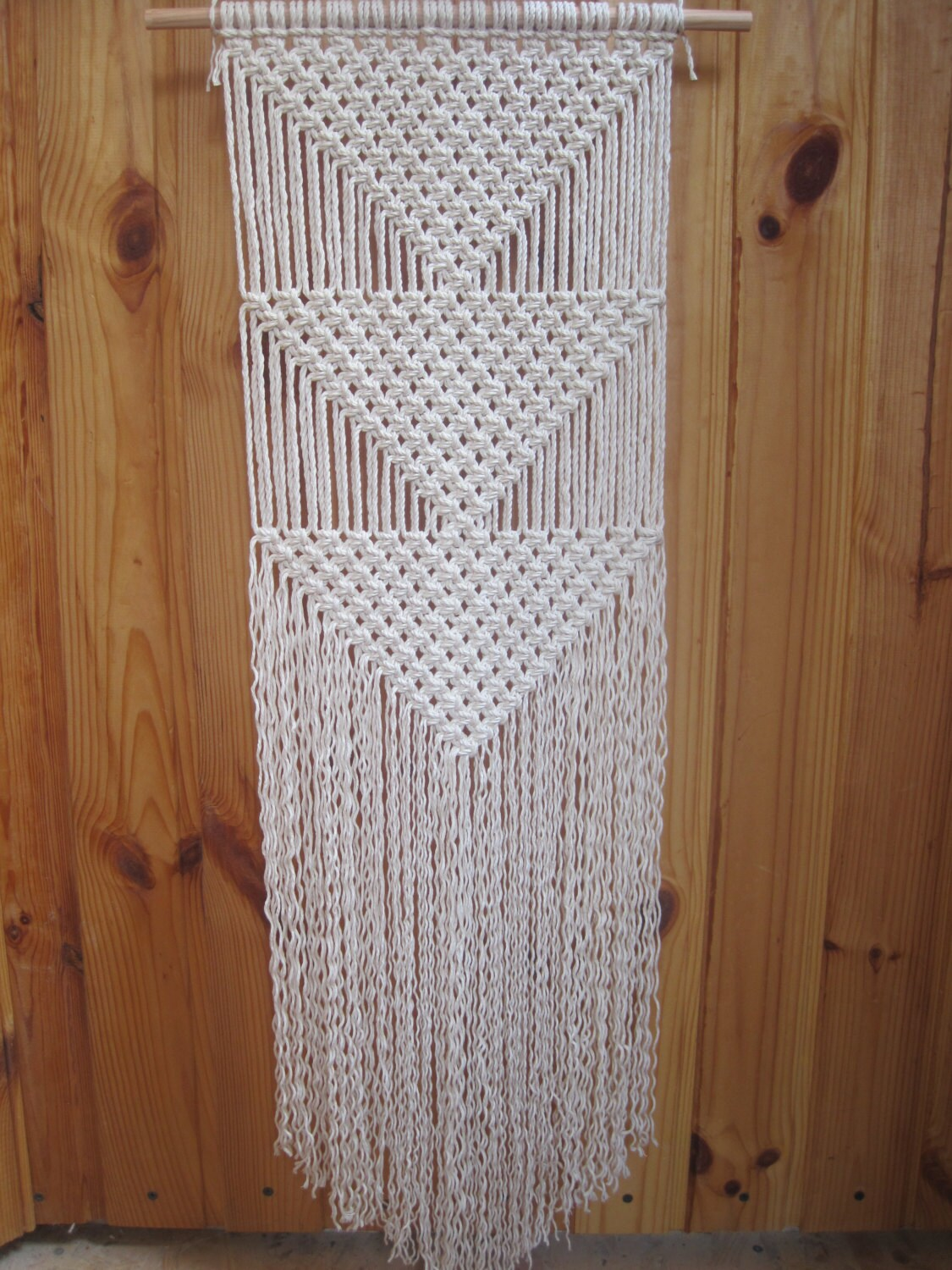 Best Macrame Wall Hanging Simple Macrame Wall Art Wall By Macrarame This Month
