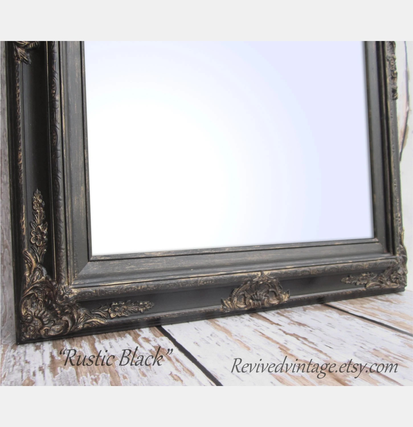 Best Framed Black Mirror For Sale Baroque Decorative By This Month