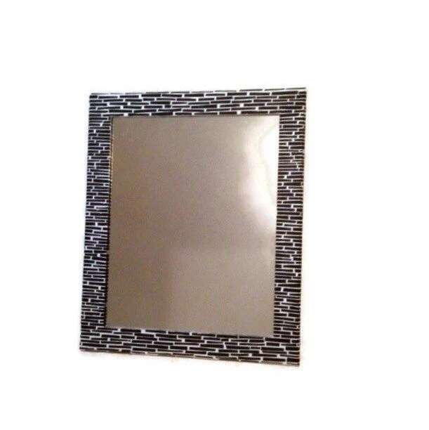Best Black And White Mirror Large Decorative Mirror Shabby Chic This Month