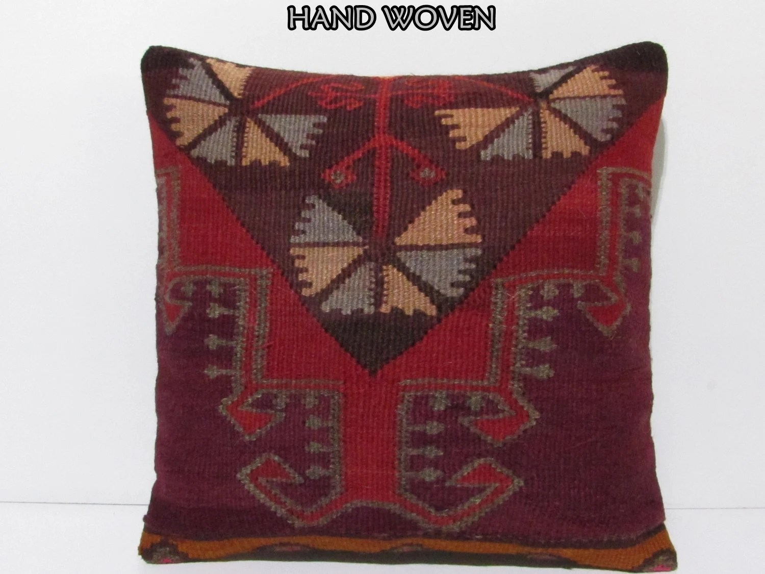 Best 20X20 Kilim Pillow 20X20 Large Throw Pillow Oversize Pillow This Month