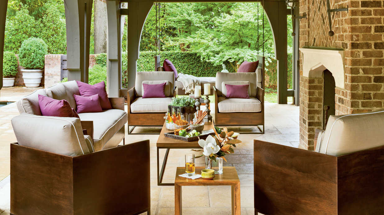 Best Refined Rustic Back Porch Southern Living This Month