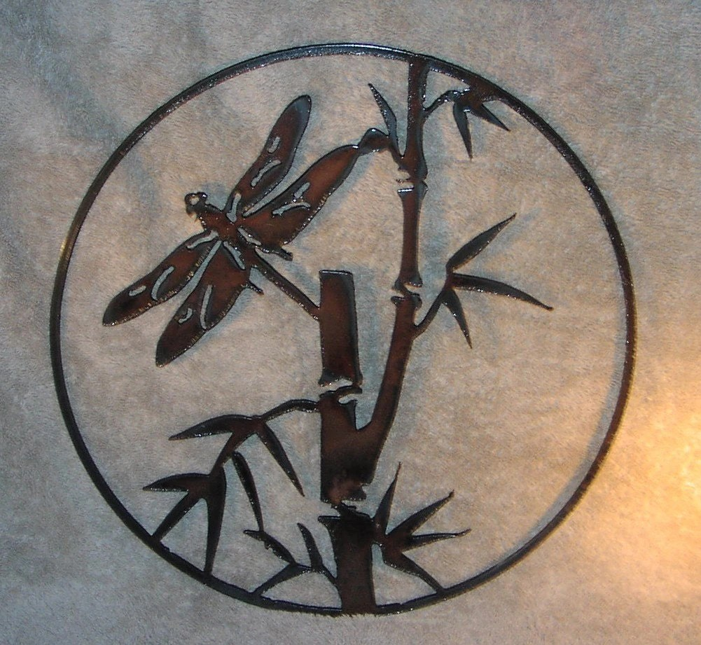 Best Dragonfly In The Bamboo Metal Wall Decor Suitable For Indoors This Month