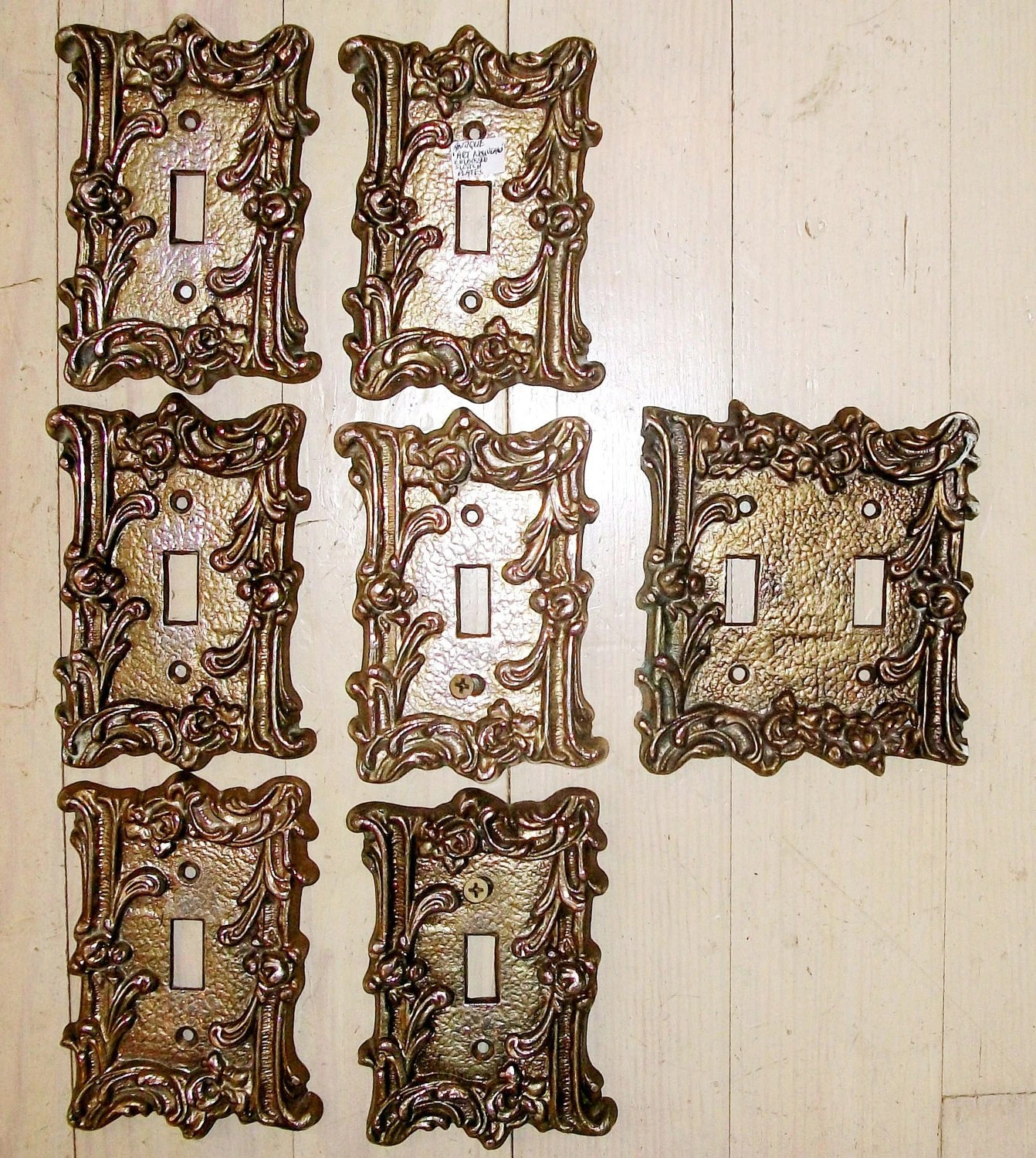Best Vintage Decorative Iron Switch Plates Sale 7 Hollywood This Month