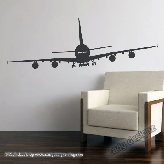 Best Airplane Wall Decal Aviation Wall Decor Airplane Nursery This Month