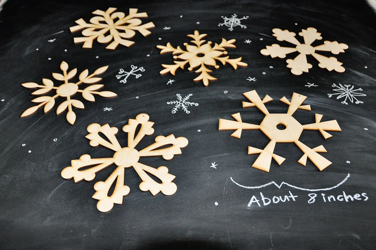Best Items Similar To Diy Wooden Snowflake Decorations Large This Month