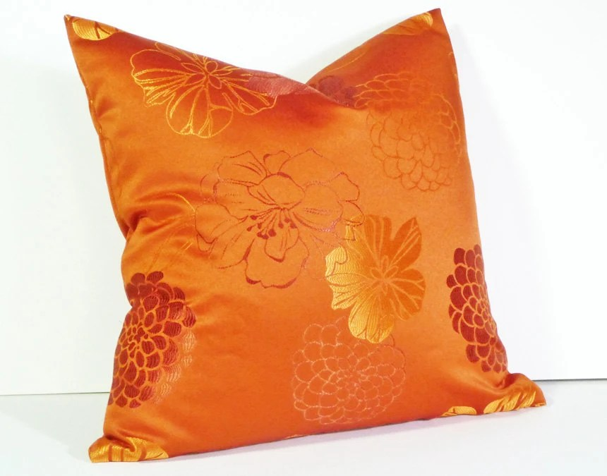 Best Orange Throw Pillow Decorative Pillows Bright By This Month