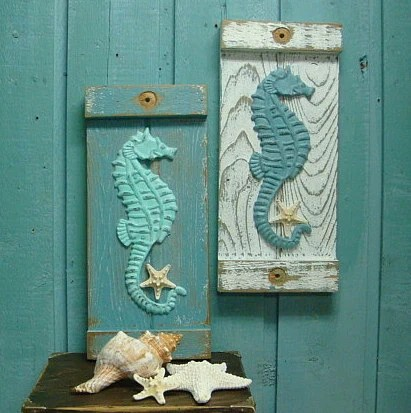 Best Seahorse Starfish Sign Wall Art Beach House Decor By This Month Original 1024 x 768