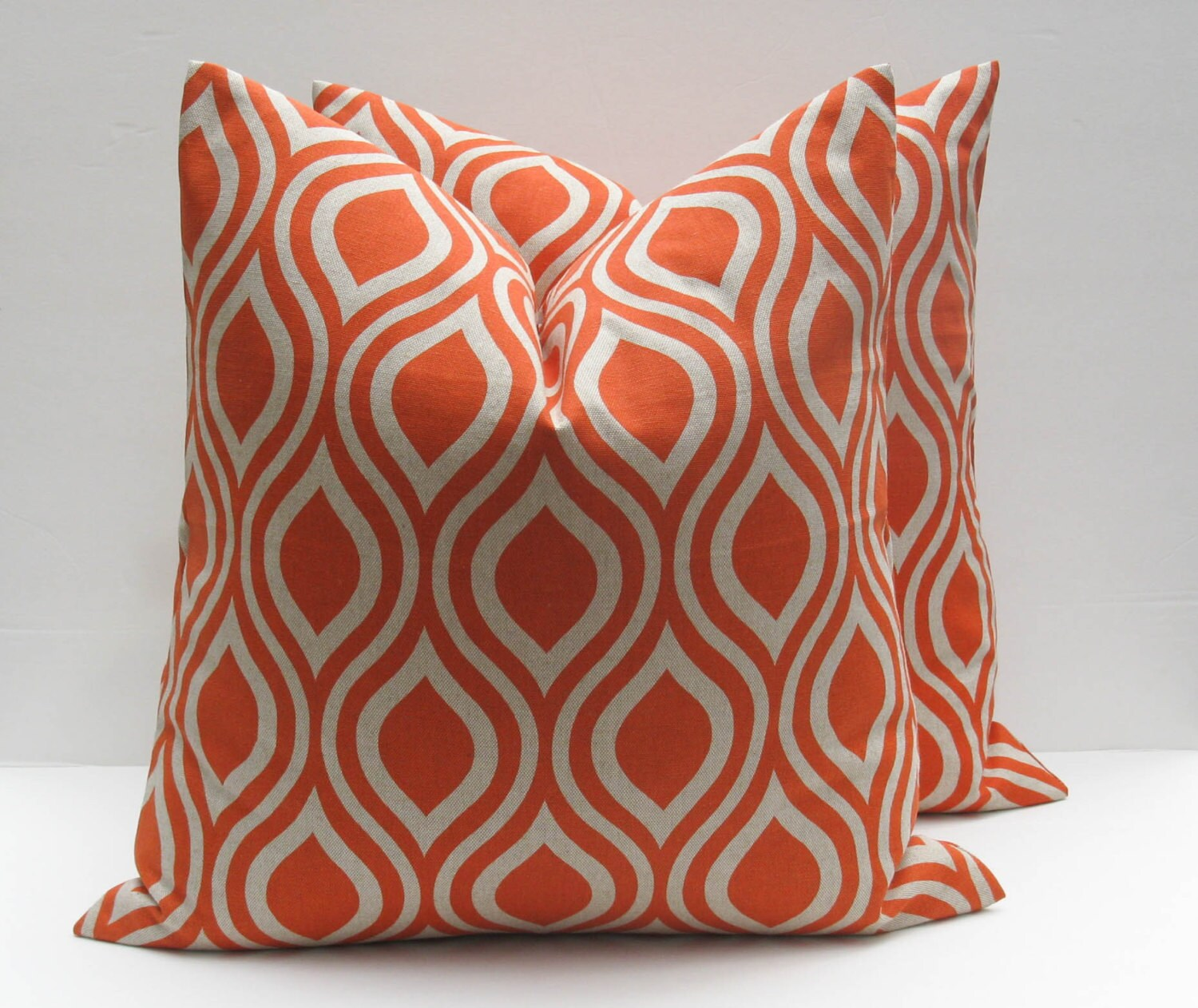 Best Decorative Throw Pillow Covers Orange Pillow 18X18 By This Month