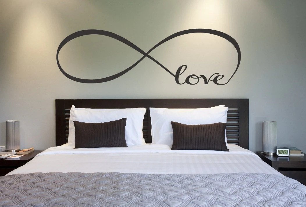 Best Love Infinity Symbol Bedroom Wall Decal Love Decor Love This Month