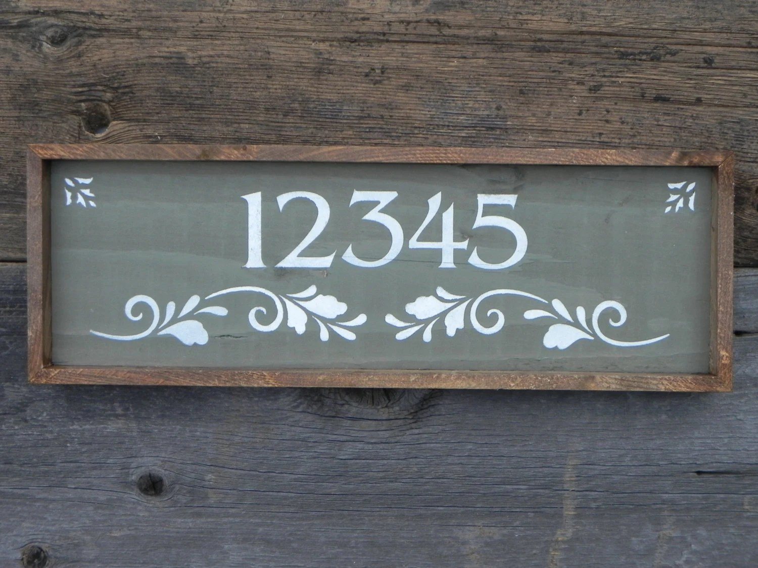 Best Custom And Personalized Address Sign Handmade Signs Outdoor This Month