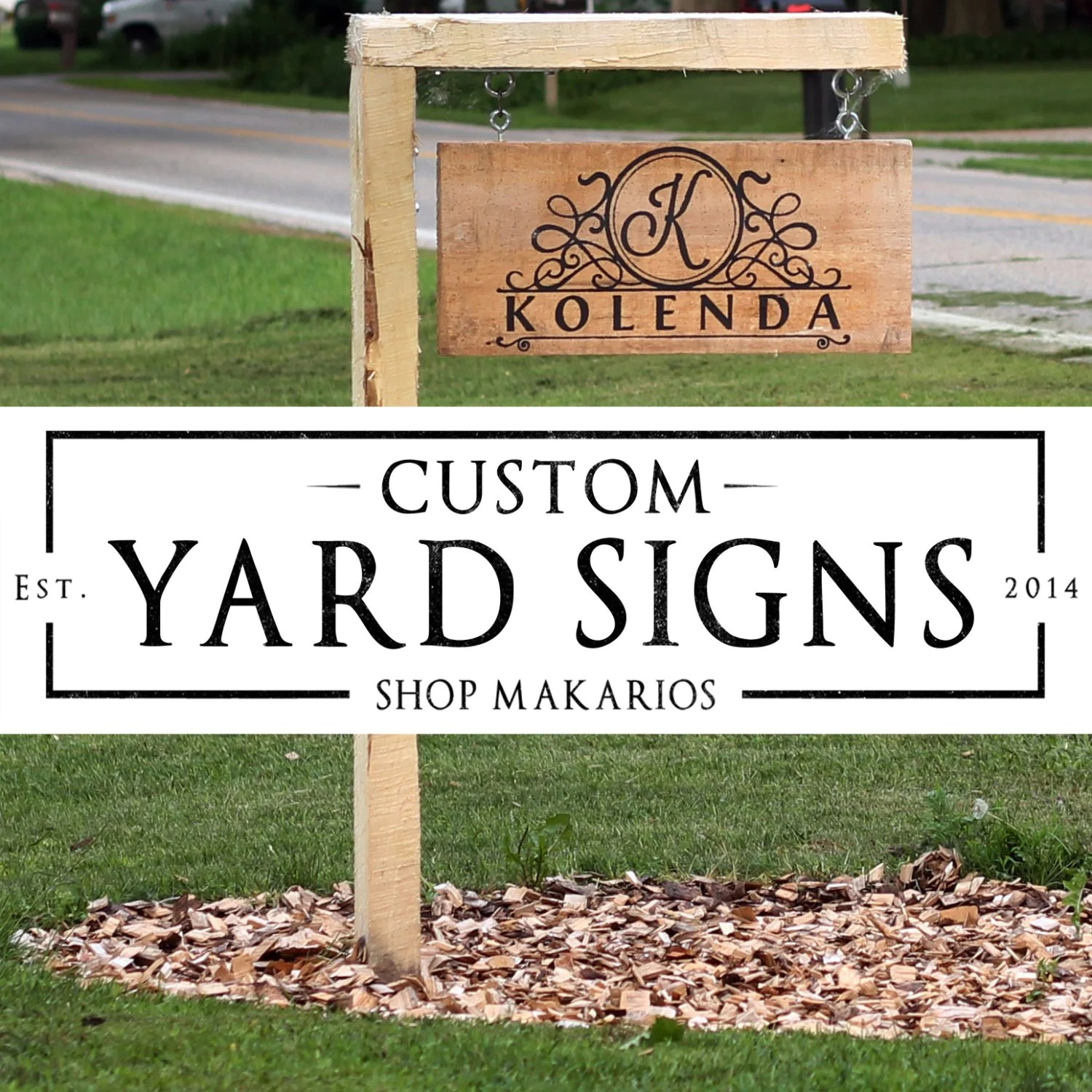 Best Outdoor Address Sign Custom Yard Sign Custom Home By This Month