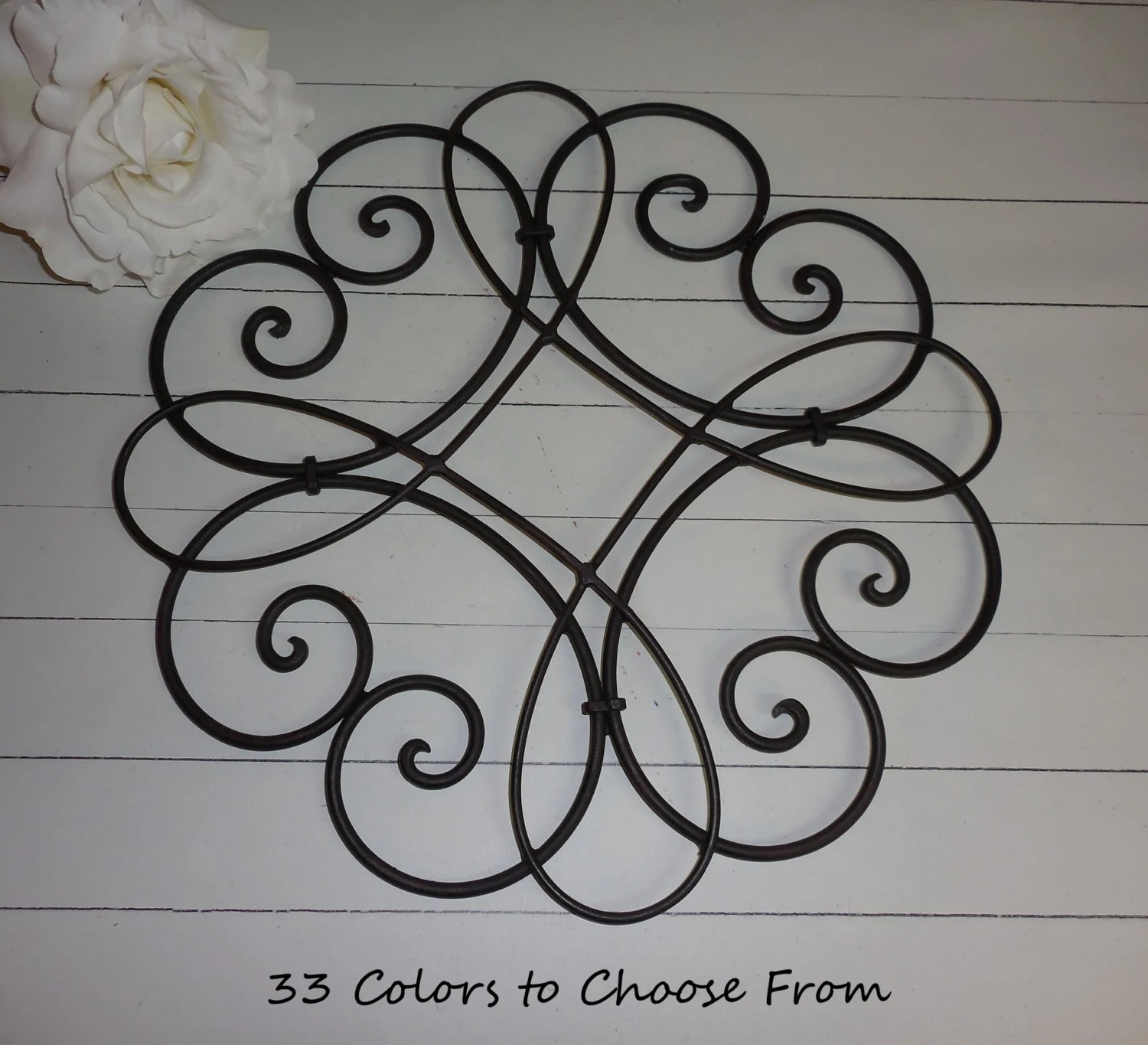 Best Black Wrought Iron Decor Shabby Chic Wall Decor This Month