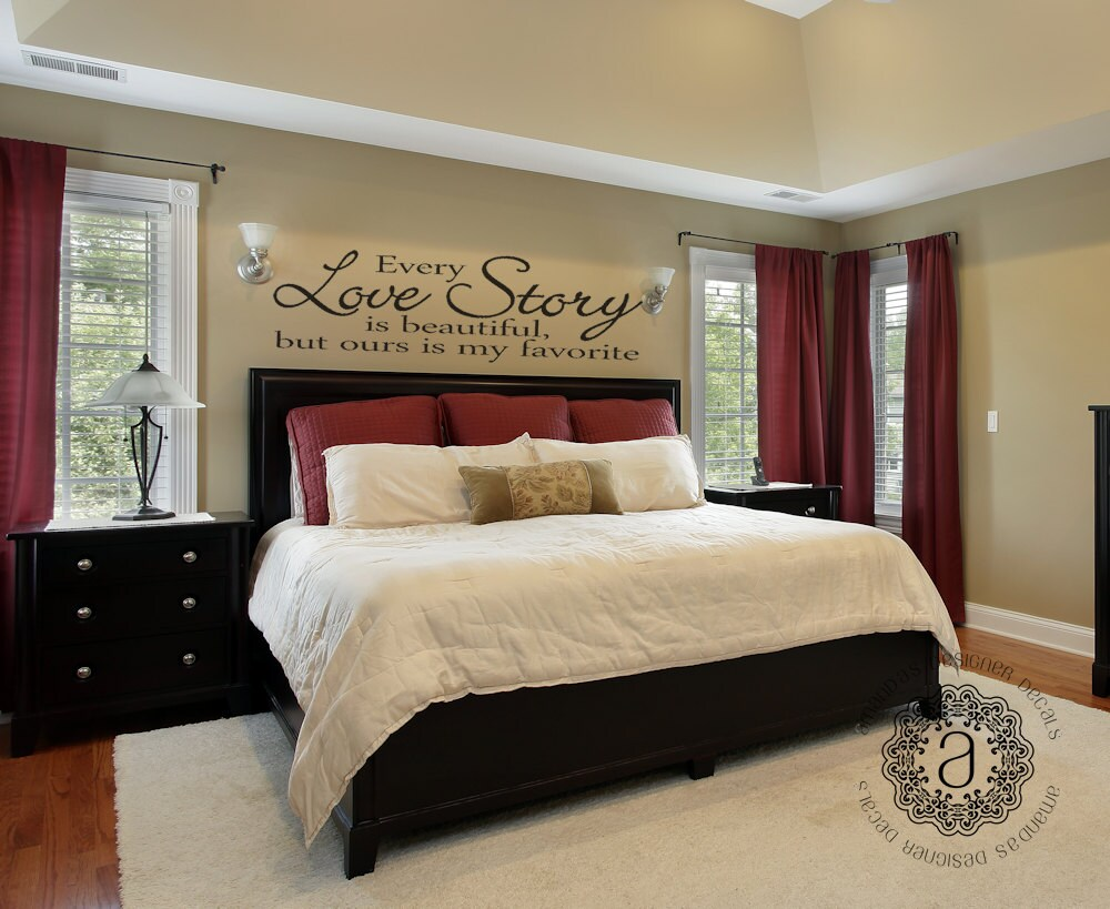 Best Bedroom Decor Bedroom Wall Decal Master Bedroom Wall Decal This Month