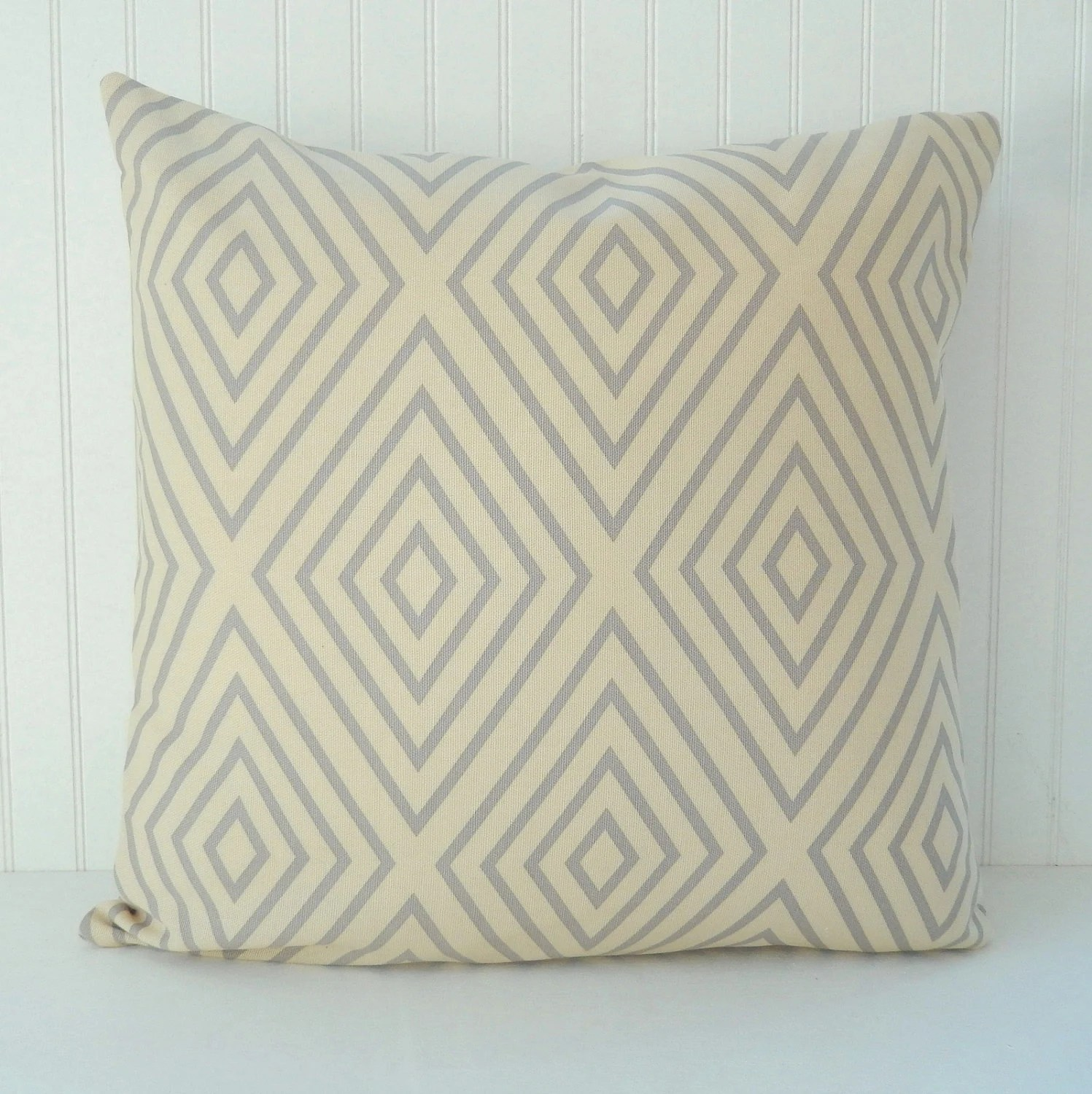 Best Beige Grey Pillow Cover Throw Pillow Decorative By Pookadellas This Month