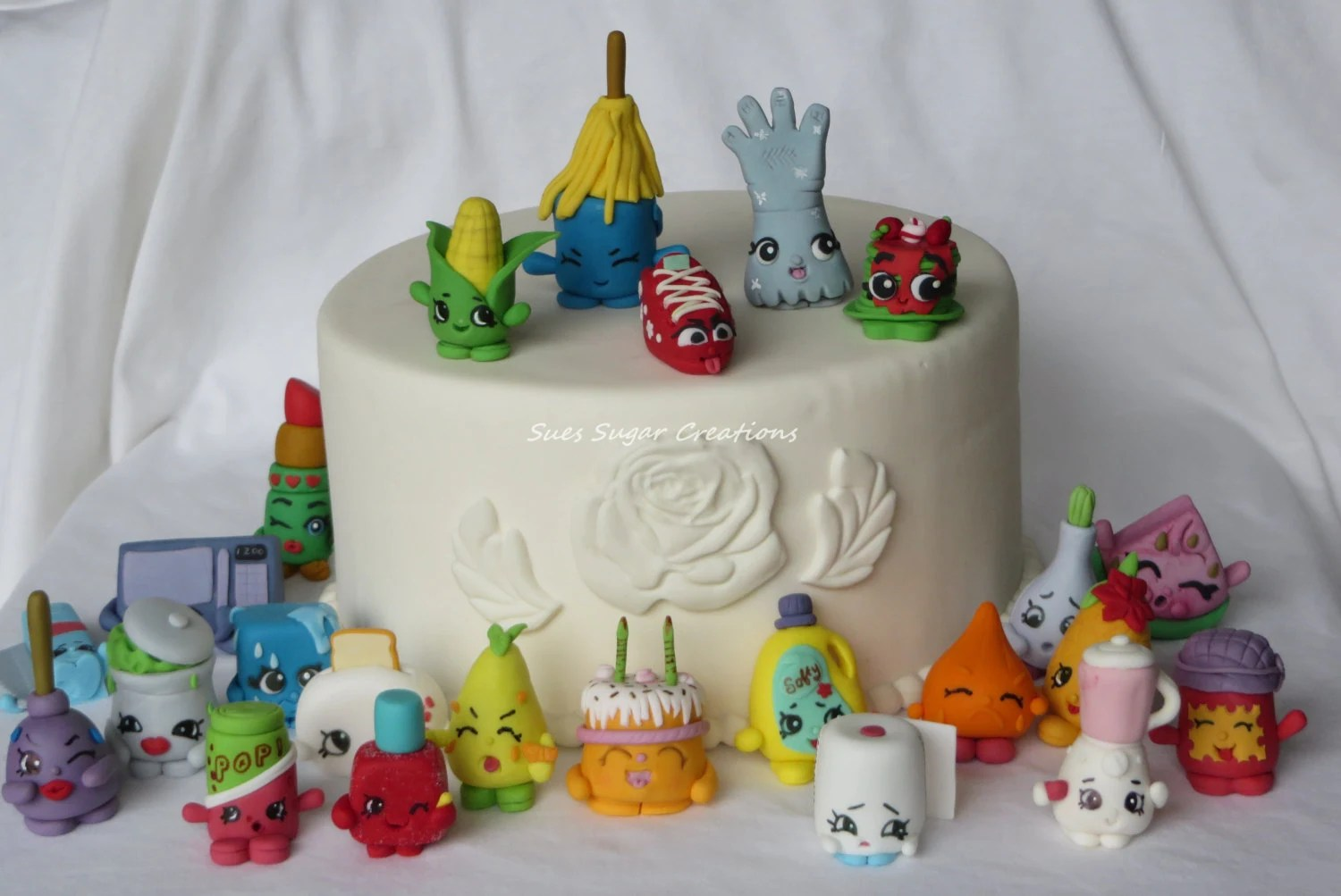 Best Fondant Shopkin Cake Topper Shopkin Birthday Edible Decoration This Month
