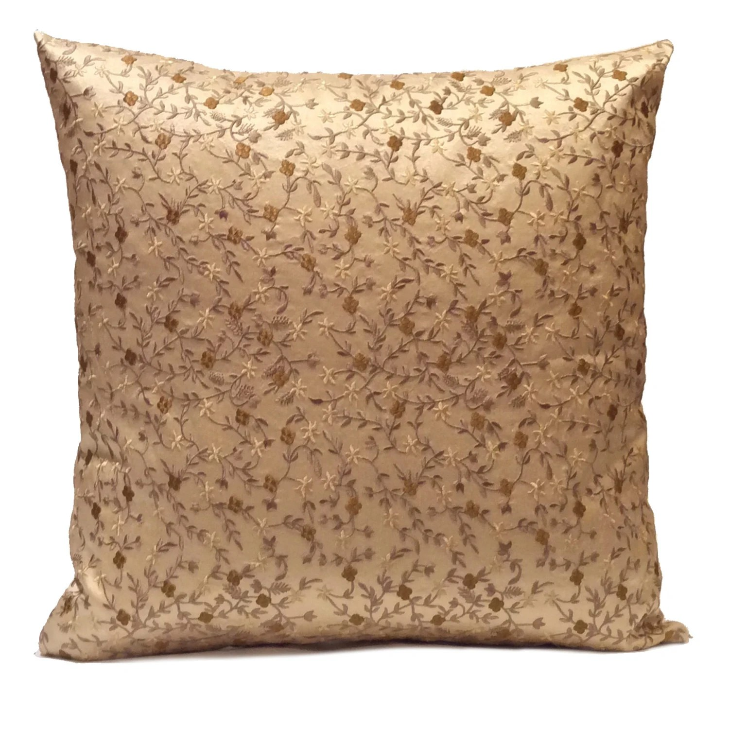 Best Beige Light Gold Pillow Throw Pillow Cover Decorative This Month
