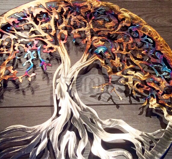 Best Metal Wall Art Stainless Steel Tree Of Life Wall Decor Wall This Month